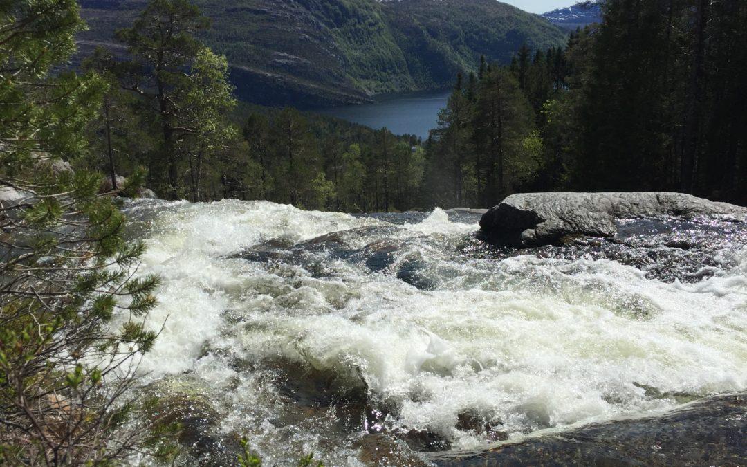 Starter utbyggingen av Løkkebø kraftverk