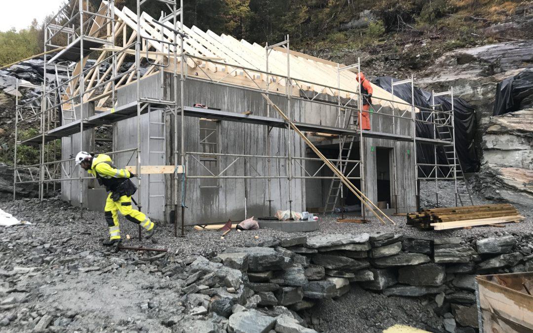 Taktekking og dambygging Løkkebø