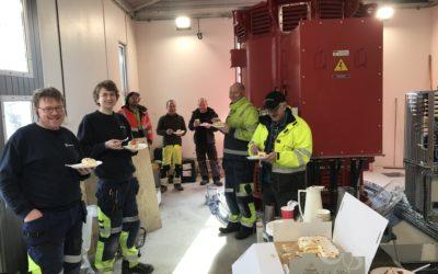 Løkkebø kraftverk satt i drift, til tross for koronakrisen!