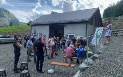Løkkebø kraftverk offisielt åpnet!