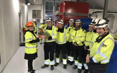 Offisiell åpning av Hinøgla kraftverk